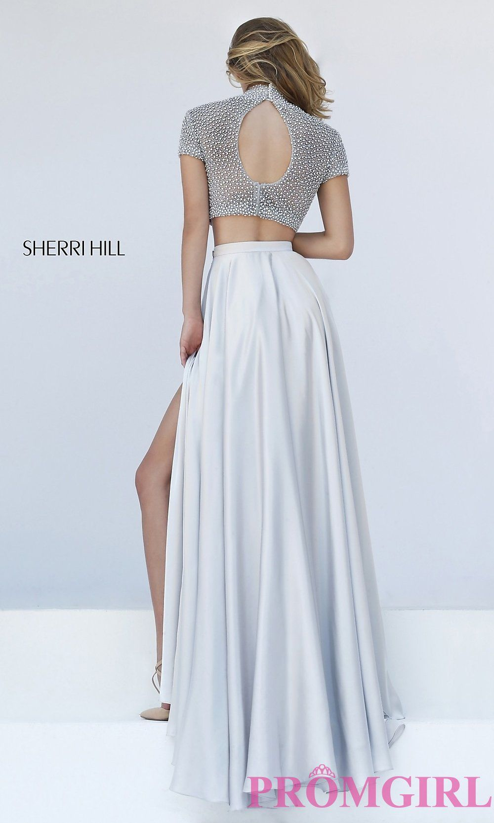 Prom Dresses, Celebrity Dresses, Sexy Evening Gowns: High Neck Two ...