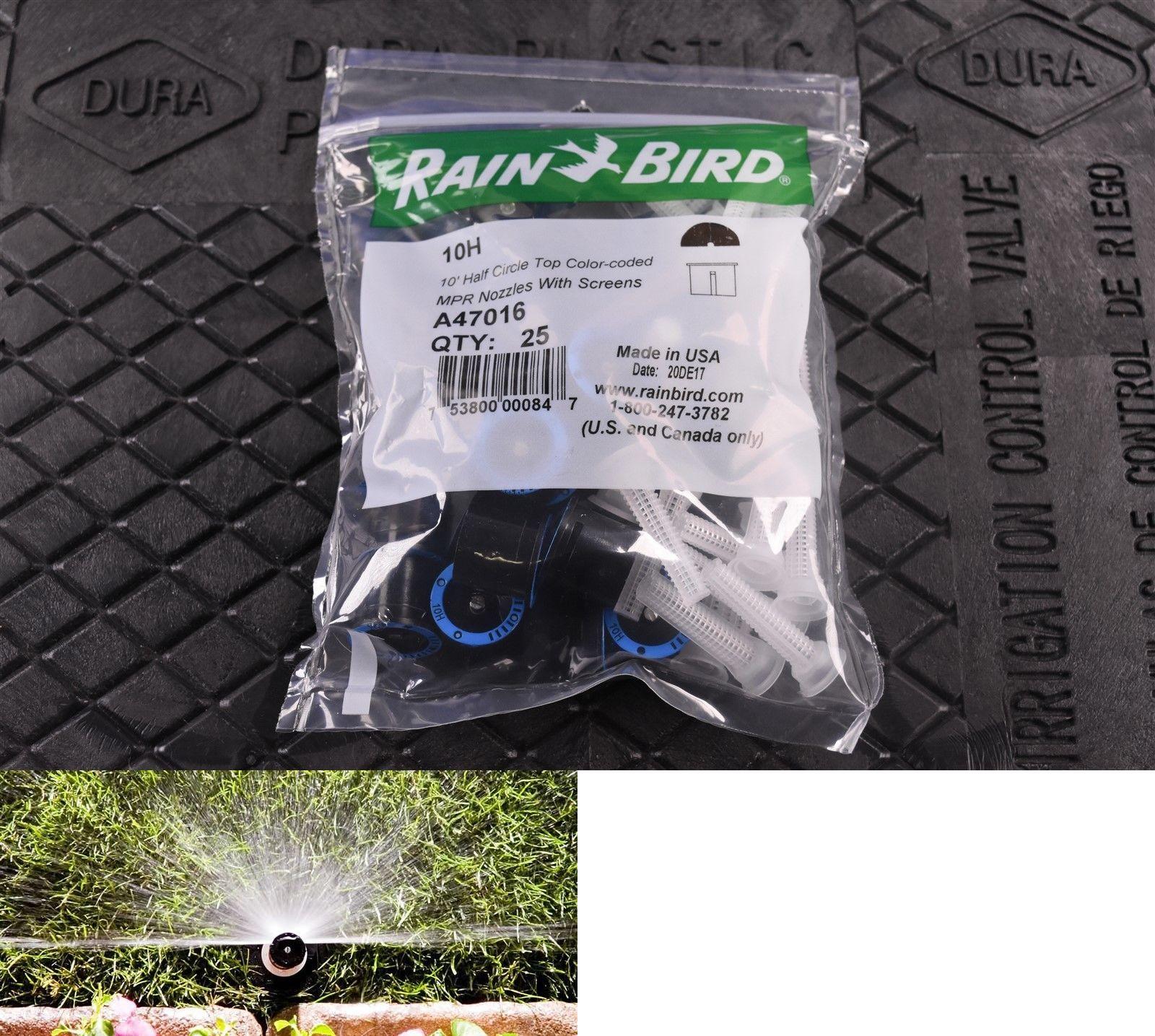 25 Rainbird 10h 10 Half Circle Pattern Sprinkler Nozzles 180 Degree 753800000847 Ebay Circle Pattern Lawn Sprinklers Sprinkler
