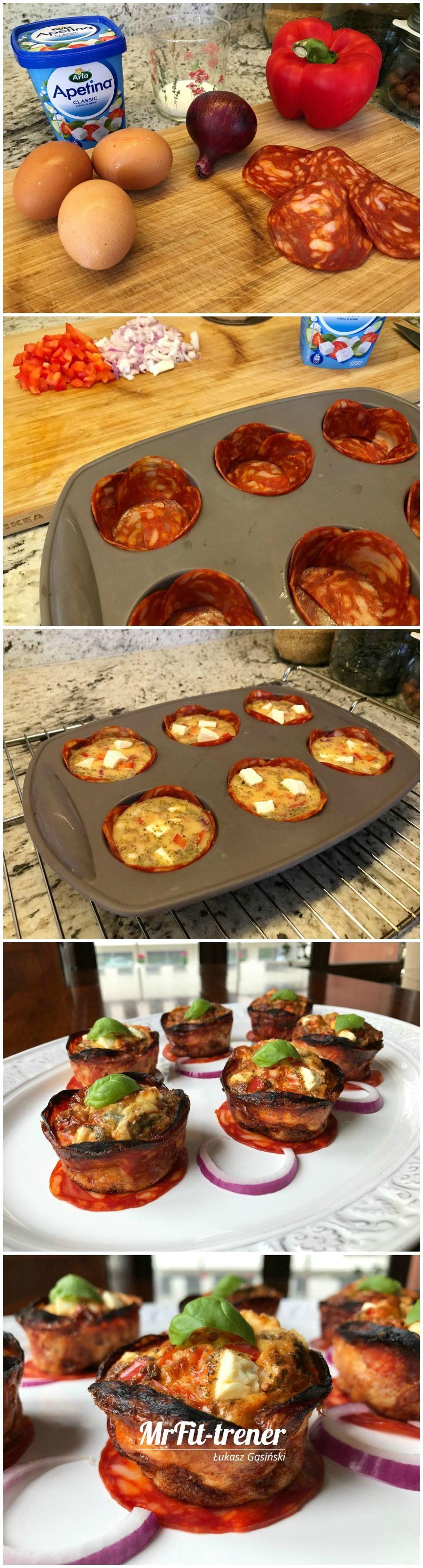 Bialkowo Tluszczowe Muffiny O Smaku Pizzy Przepisy Fit Trener Personalny Mcfit Warszawa Lukasz Gasinski Food Breakfast Chef