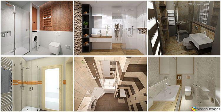 Bagno piccolo con doccia: 50 idee di arredo originali decor decor