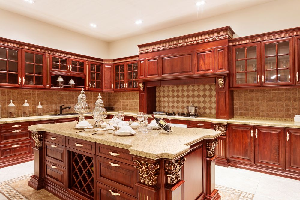 Luxury Wooden Kitchen Cabinets