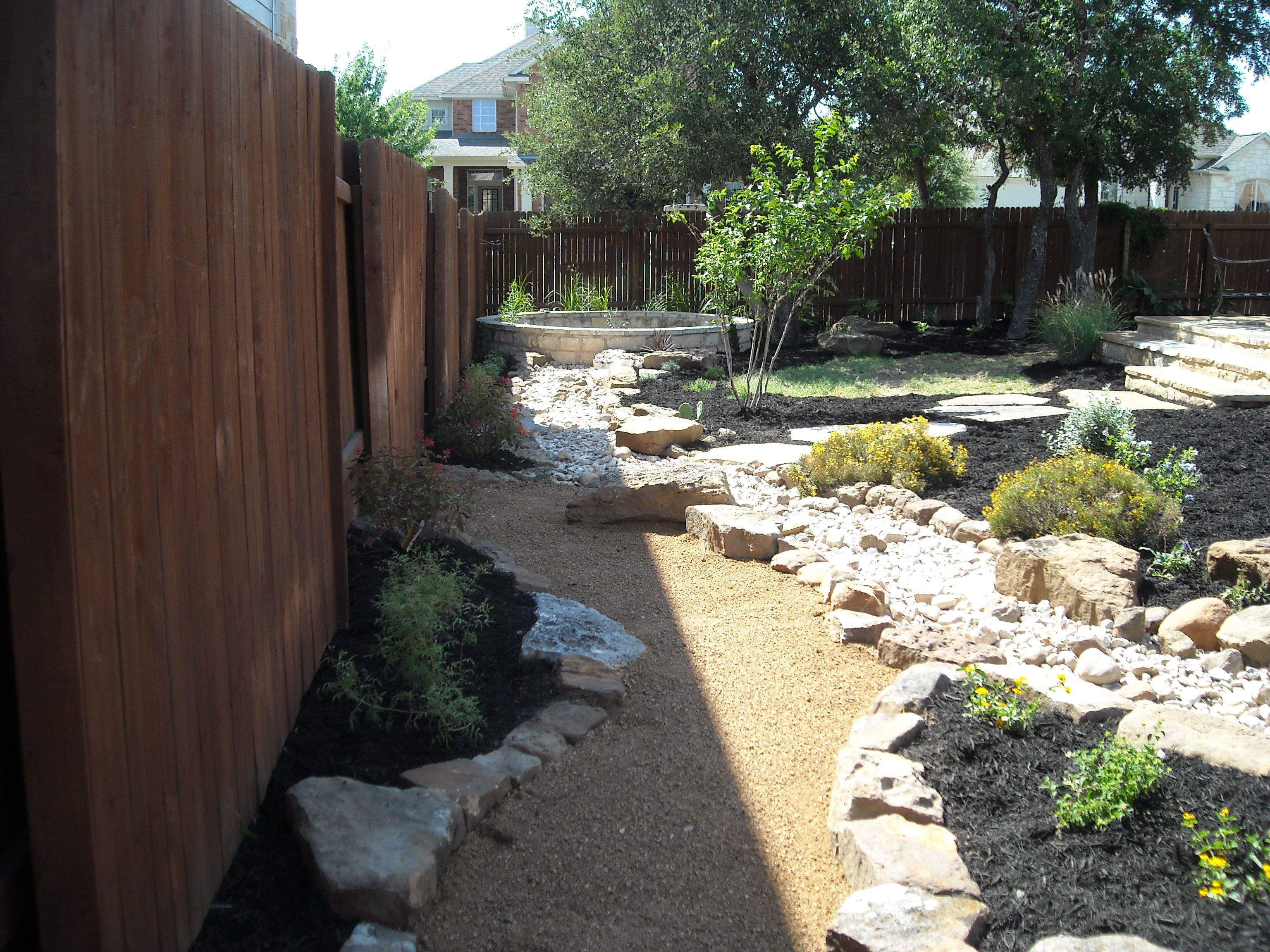 Backyard landscape design using all my favorite elements ... on Backyard Beach Landscape Design id=35298