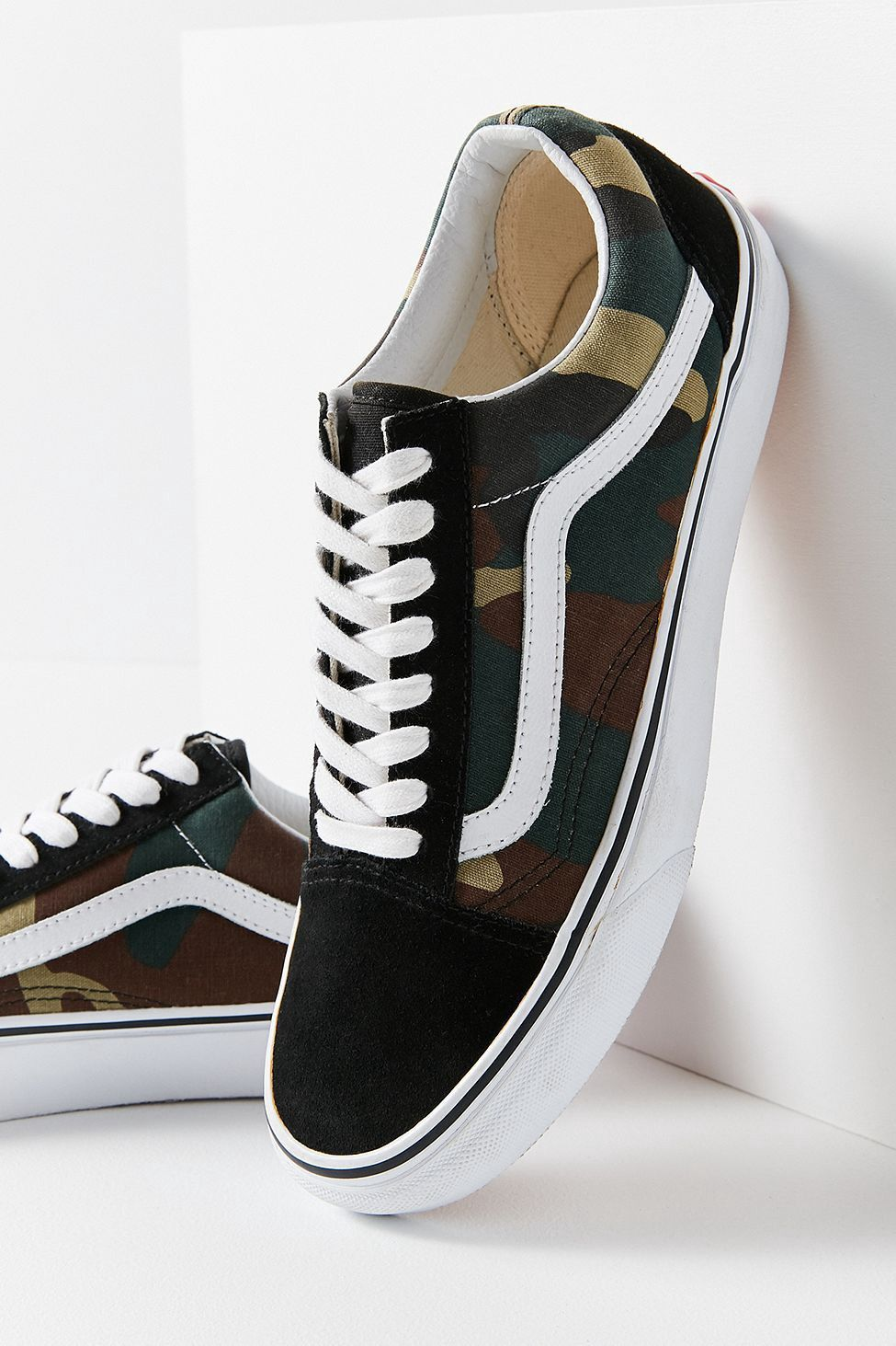 Urban Outfitters Vans Woodland Camo Old Skool Sneaker W 5