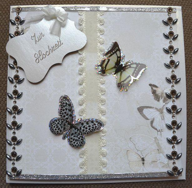 3D+Karte+Hochzeit+Schmetterlinge+inkl.+Umschlag+von+Pattys+Kartenwelt+auf+DaWanda.com