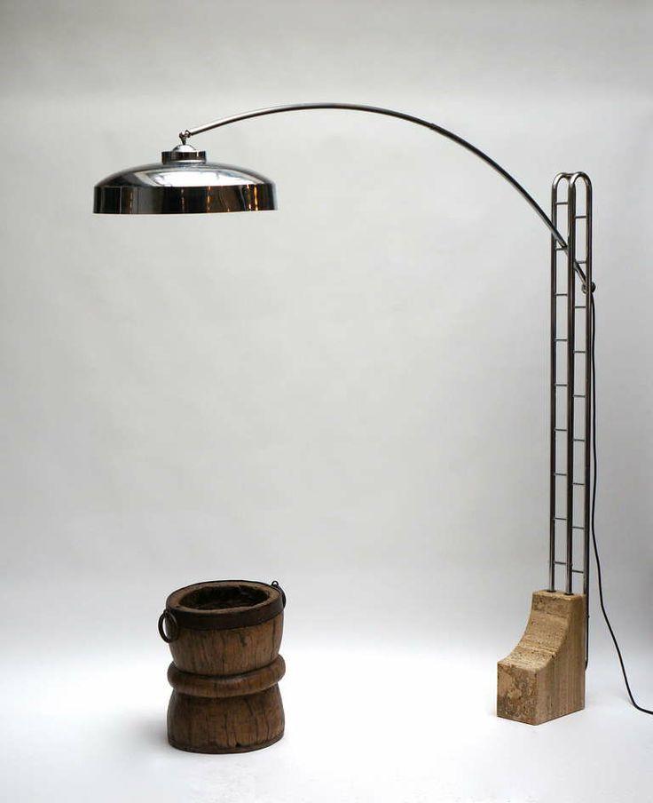 Constructivist Bauhaus style lamp circa 1940