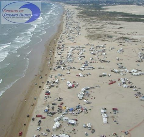 Grew Up Camping On These Beaches In Pismo Beach Area Oceano Only You Can Drive And Camp With Campers Tents