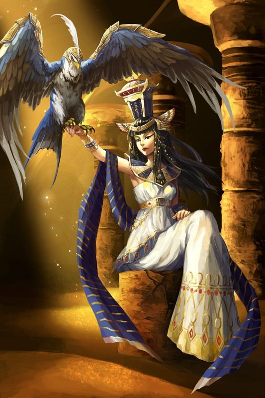 Nephthys Is An Egyptian Protective Goddess Of The Dead Gods And