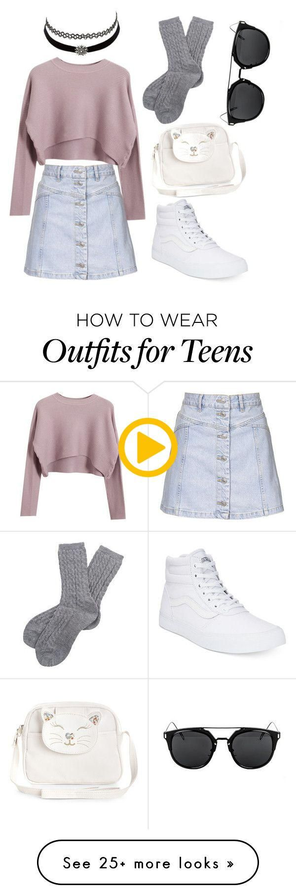 """Teens spirit"" by scatterbrain69 on Polyvore featuring Topshop, Charlotte Russe"