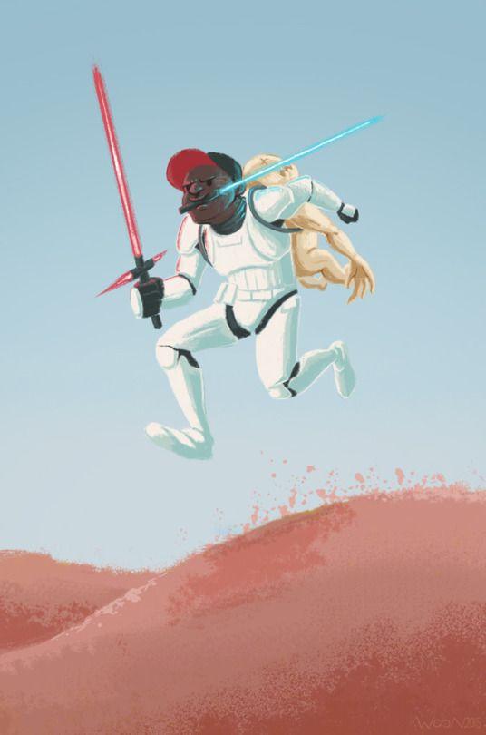 Finn - Star Wars VII, The Force Awakens