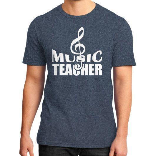 Music teacher District T-Shirt (on man)
