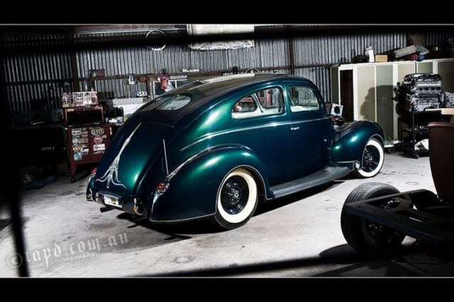 1940 Ford Sloper Hotrod 401 Nail Head V8 6 Carb Equiped