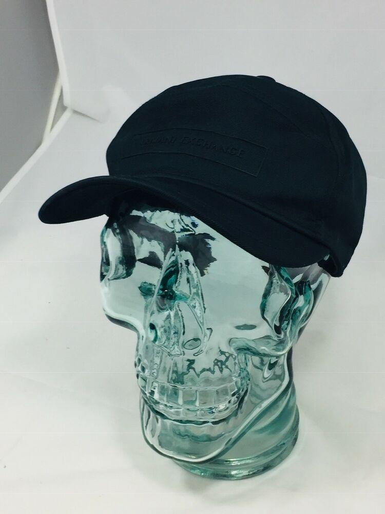 neue Sachen verschiedene Arten von hoch gelobt Black A|X Armani Exchange Hat AX Cap Adjustable | Hats, Hats ...