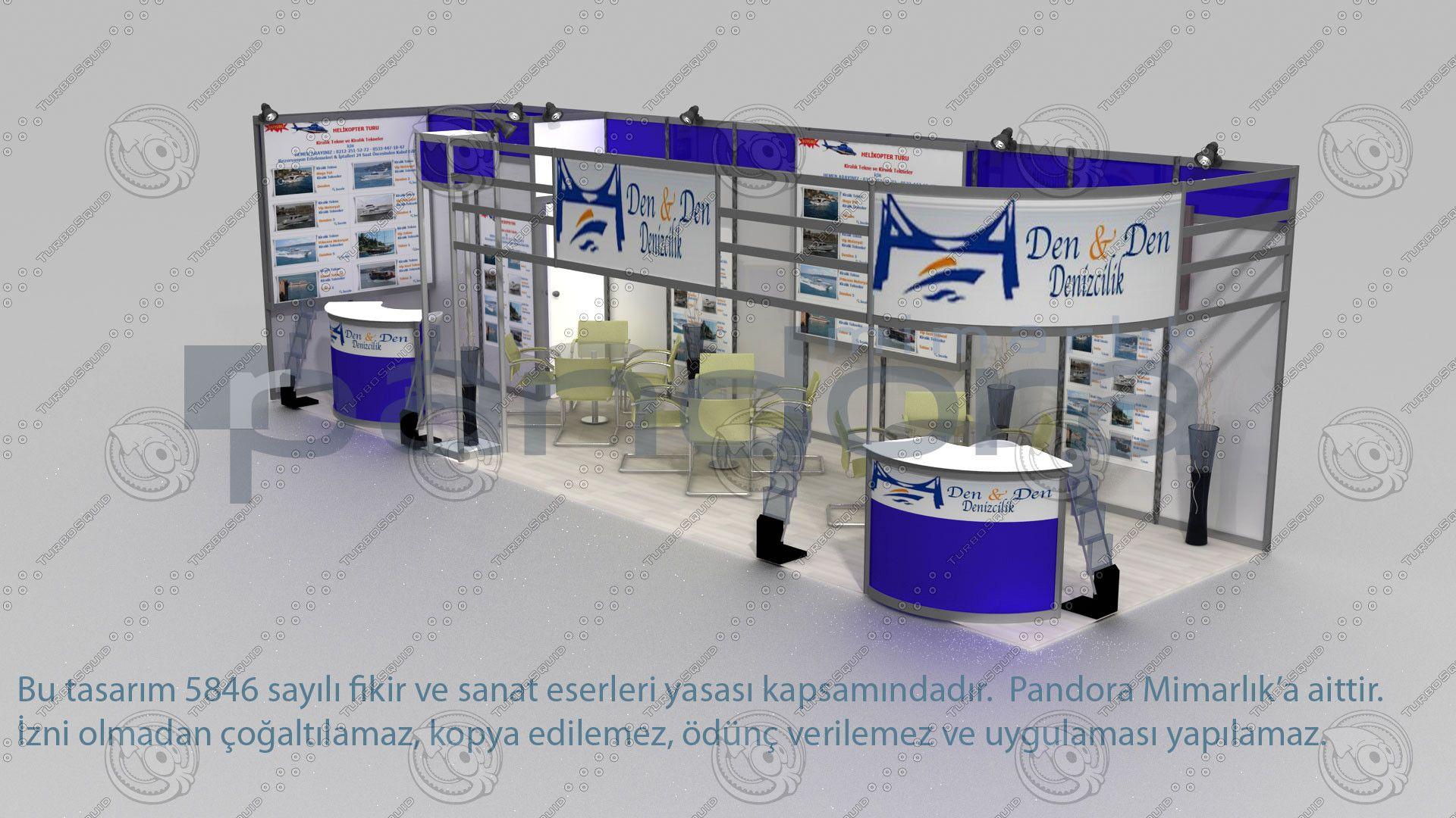 Den&Den fair stand exhibition max Exhibition Stand Design