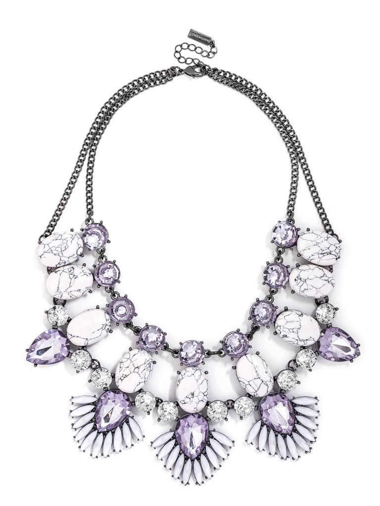 "statement necklace | get the look from ""Modern Ladylike"" 