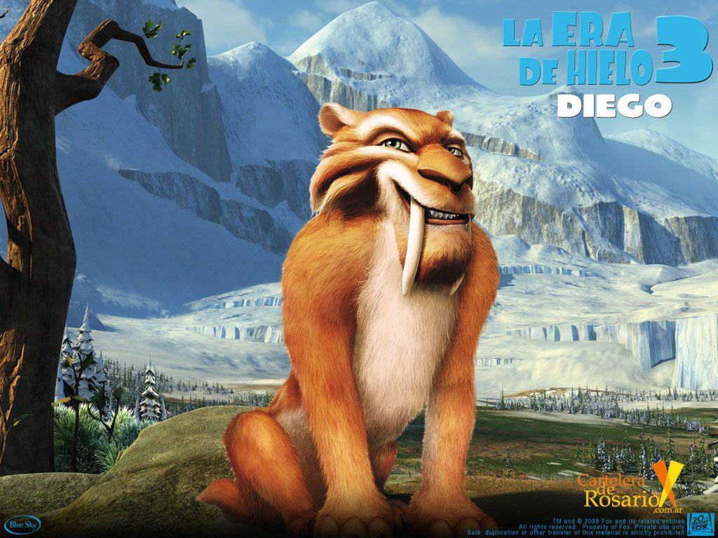 Diego   Hielo, Dibujos animados y Cumple