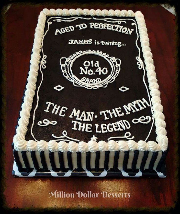 Birthday Cake For 60 Year Old Man