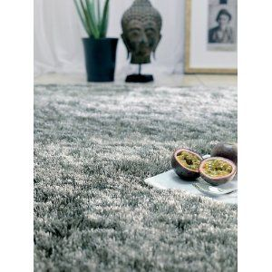 benuta poil long tapis shaggy whisper tungsten gris. Black Bedroom Furniture Sets. Home Design Ideas