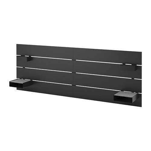 Nordli Headboard White Ikea Extension Bits Ikea