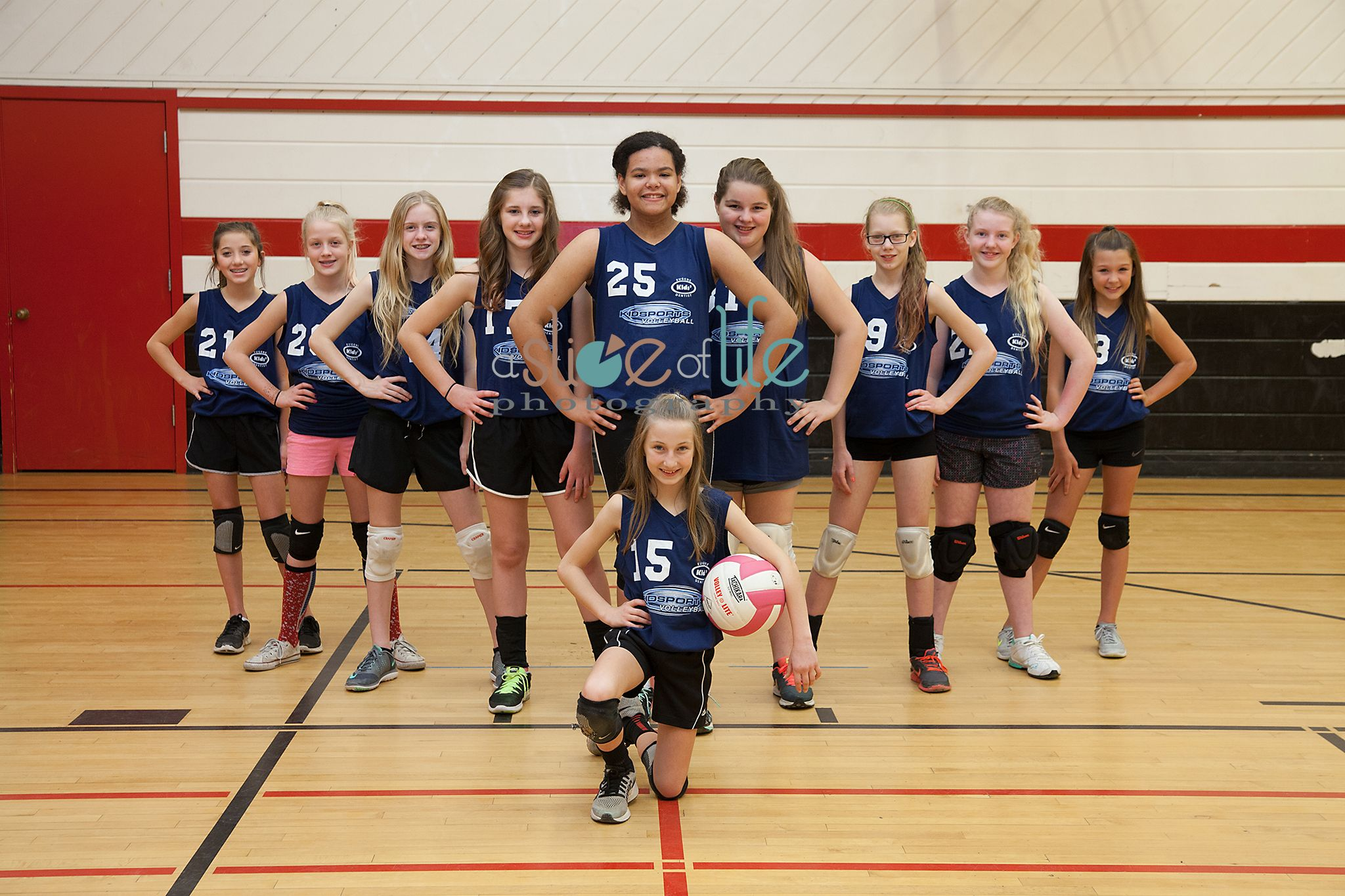 Volleyball Team Pose Volleyball Pictures Volleyball Team Sport Poster