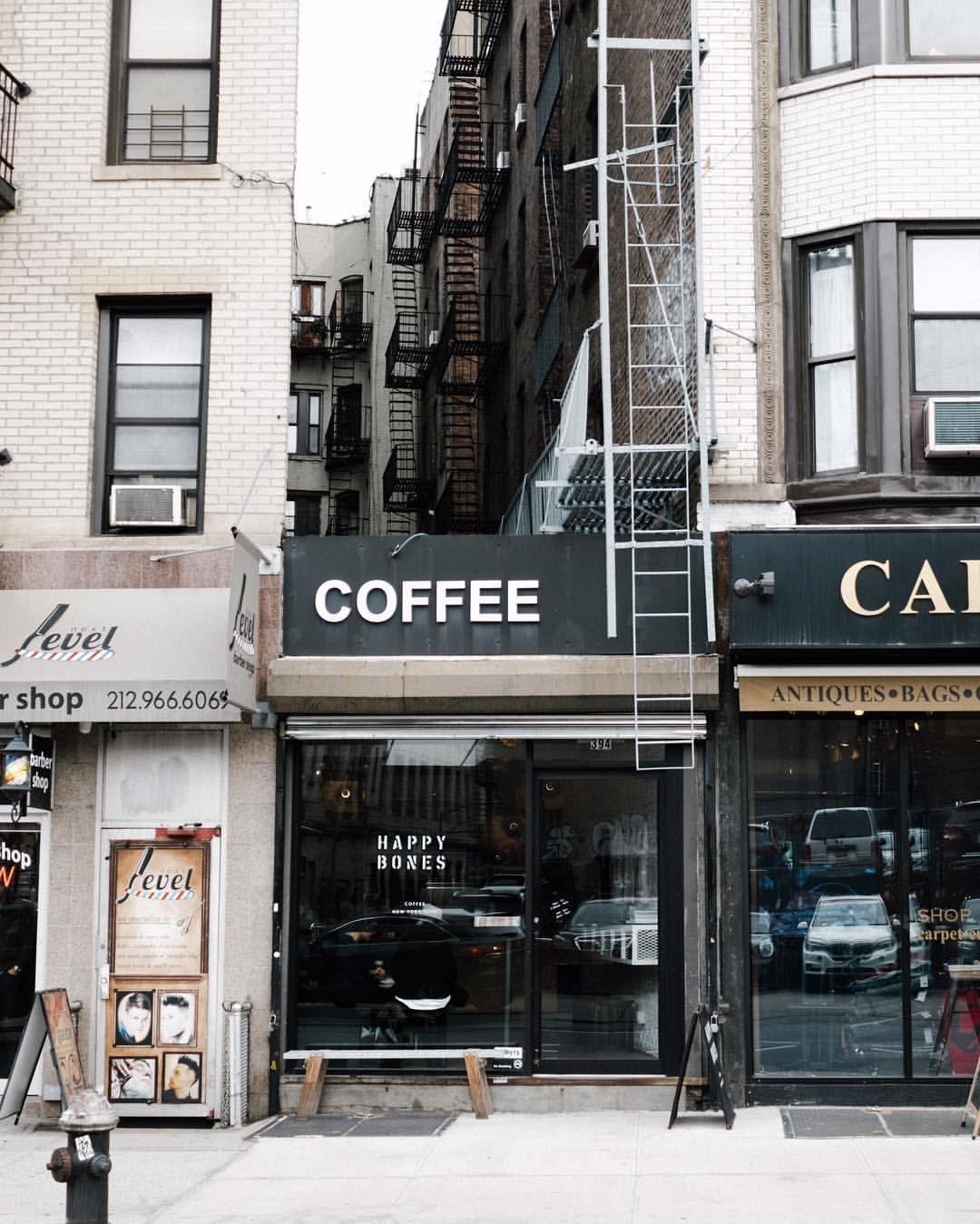 Happy Bones Coffee New York City Instagram, York city, City