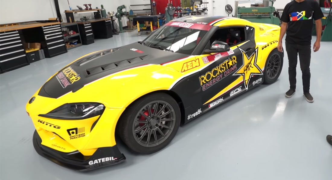 Photo of Take An In-Depth Look At This 1,000 HP 2020 Toyota Supra Drifter | Carscoops