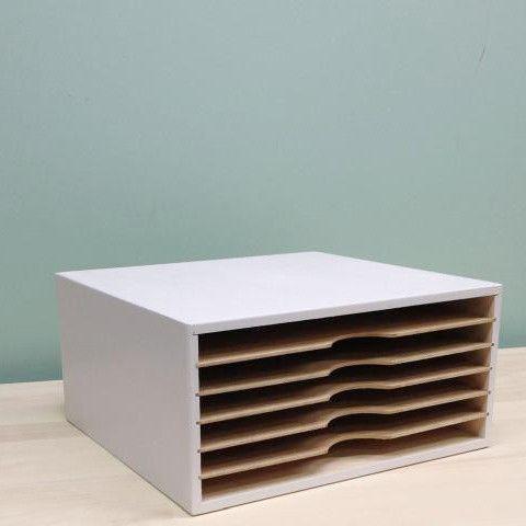 Stackable Paper Organizer Paper Organization Paper Storage Craft Room Storage