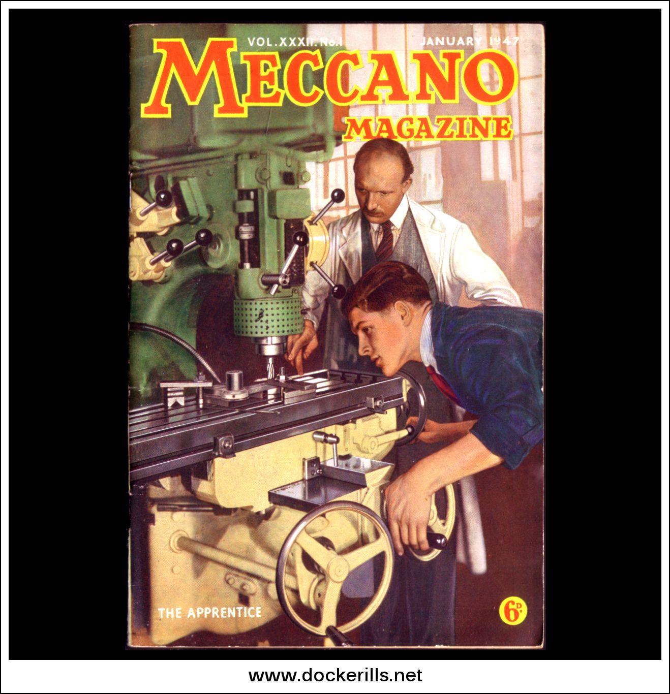 Meccano Magazine XXXII No.1 January 1947 Collectible | hobbyDB