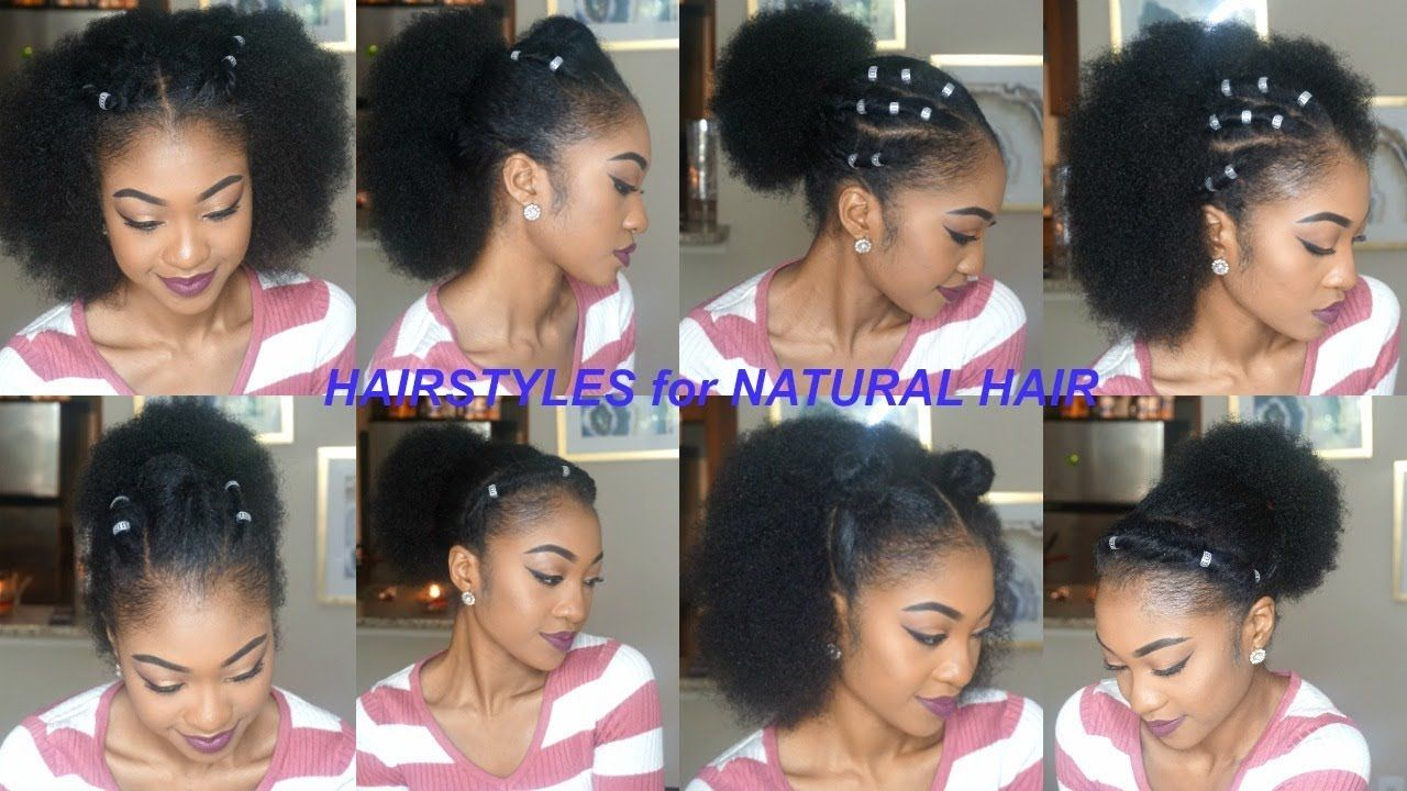 More quick u easy hairstyles for shortmediumlong natural hair