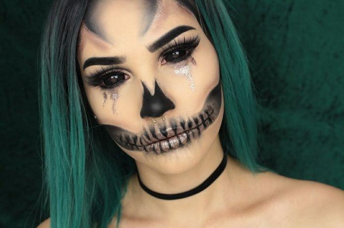 Quatang Gallery- Deguisement Halloween Qui Fait Vraiment Peur 25 Idees En Photos Maquillage Halloween Idee Maquillage Halloween Maquillage Halloween Qui Fait Peur