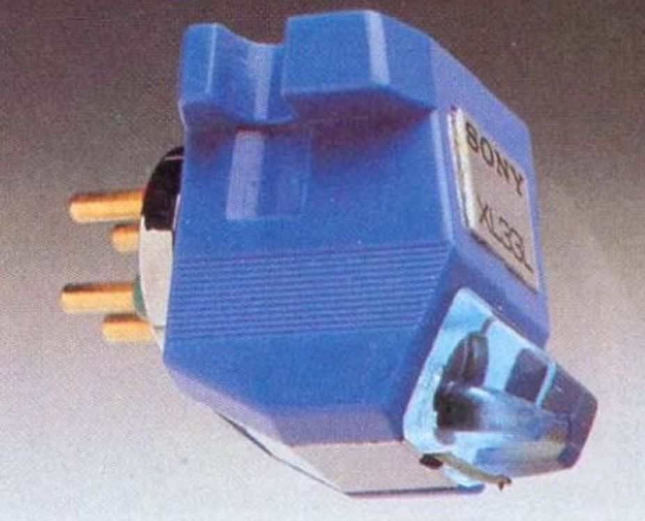 Sony Xl33l Mc Cartridge Turntable Receiver Audio Sound
