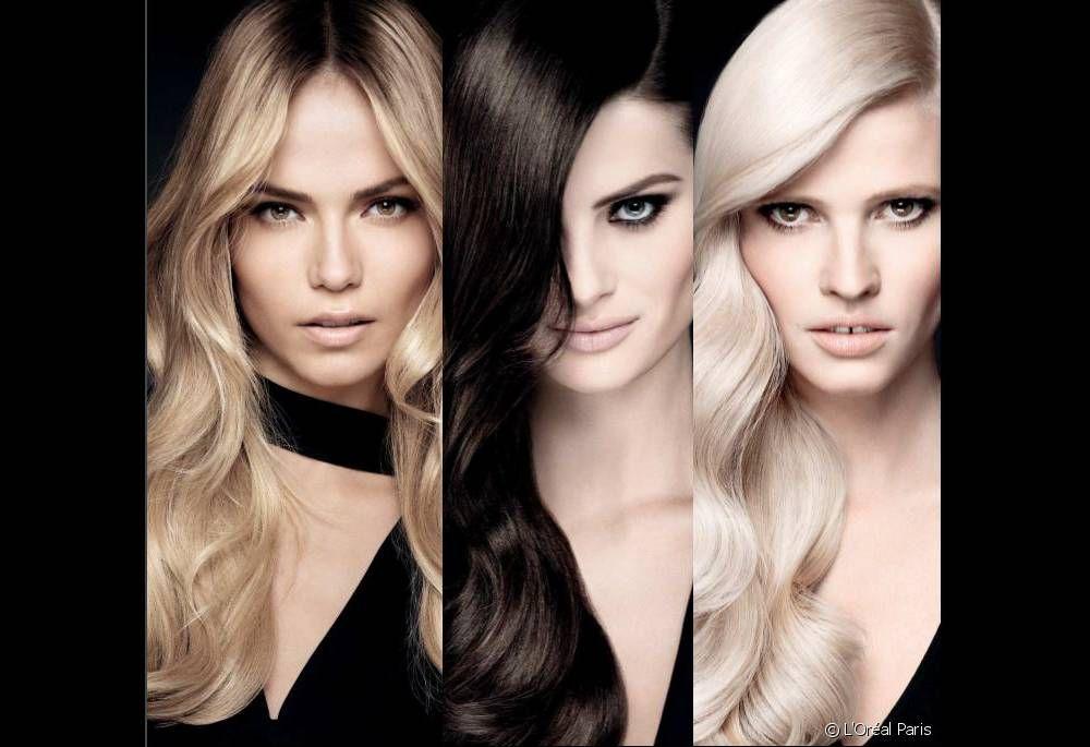 Beauty Overdose: Natasha, Isabeli and Lara pose for new L'Oréal 'Préférence Infinia' campaign