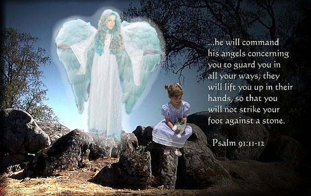 He Will Command His Angels To Guard You In All Your Ways Psalm 91 11 Angel Gospel Music