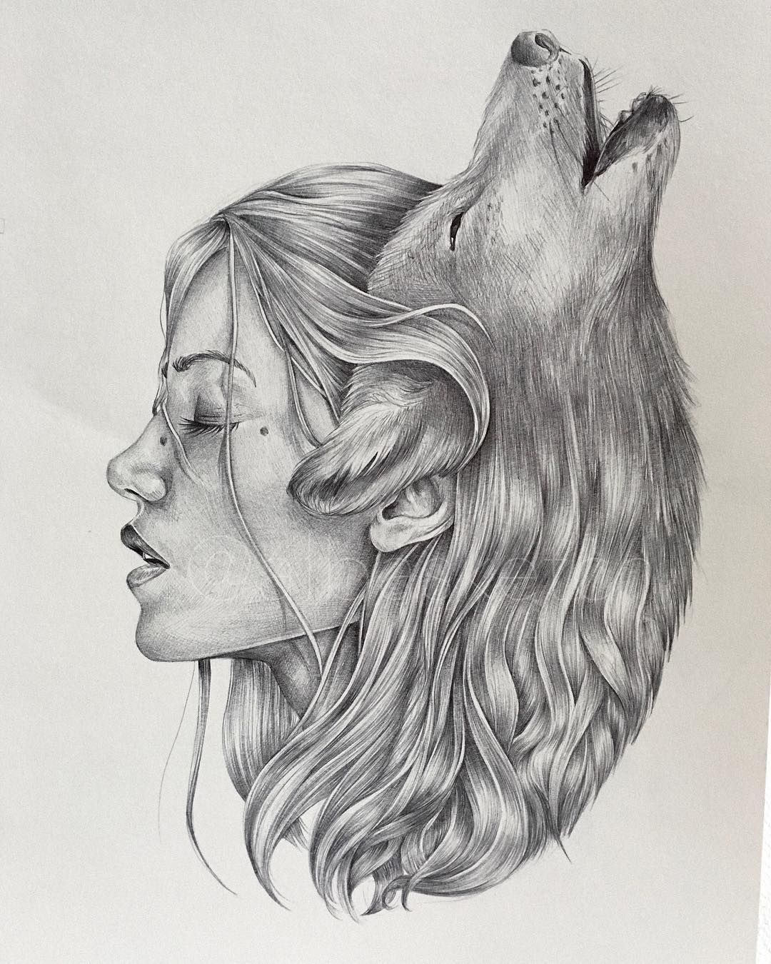 The Wolf Is My Spirit Animal