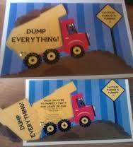 Dump Truck Invitation Template
