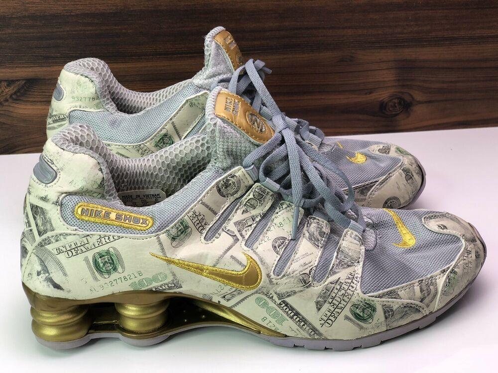 Nike Shox Mens Running Shoes Size 13