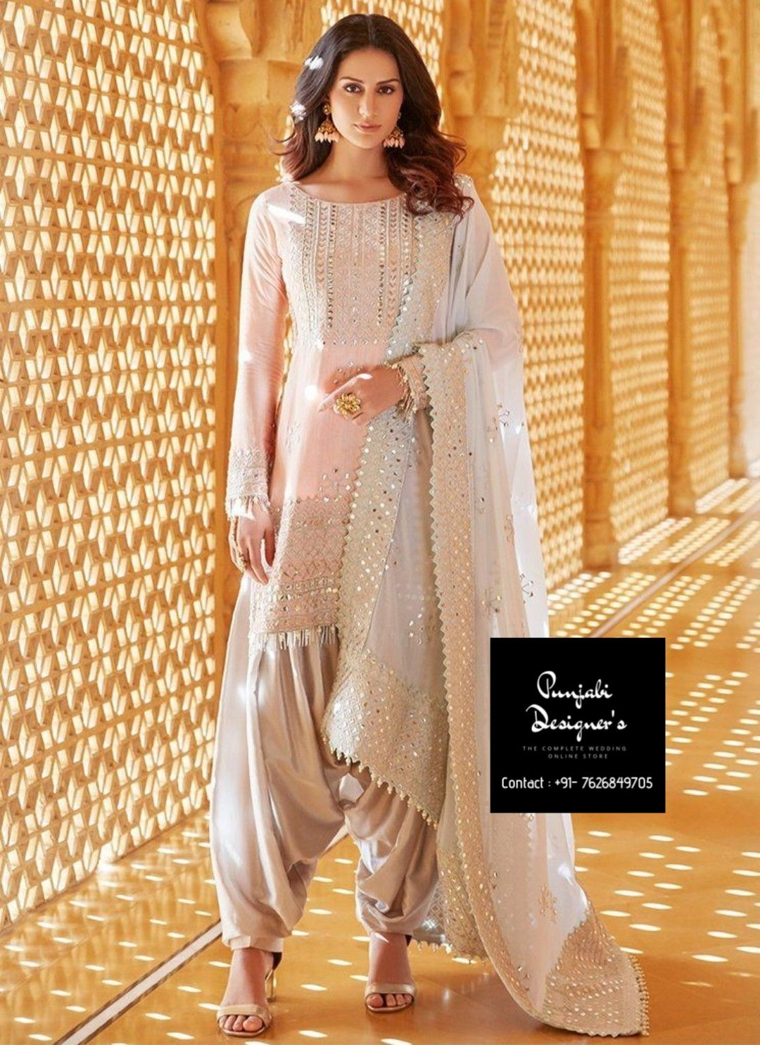 Buy Punjabi Suit Online India Indian Outfits Punjabi Outfits Indian Fashion