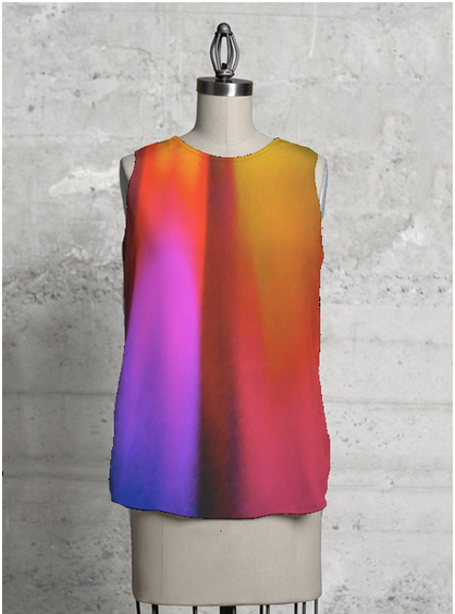 Sleeveless Top - SUNDAY MORNING by VIDA VIDA High Quality For Sale Clearance Classic UaJkyZc