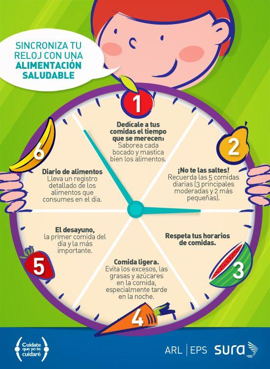 Sincroniza Tu Reloj Con Una Alimentaci 243 N Saludable