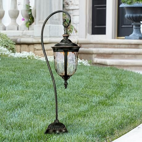 Bellagio Collection 32 1 2 High Led Landscape Path Light 5k438 Lamps Plus Outdoor Path Lighting Path Lights Best Outdoor Lighting