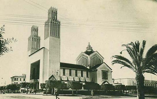 Cathedrale saint pierre rabat maroc built in by adrien
