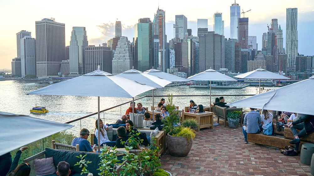 The 12 Best Rooftop Hotel Bars in New York Robb Report