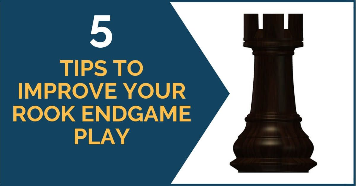 Rook Endgames Are A Complicated Category Even For The Most Experienced Players They Are Tricky And It Is Easy To Go Wrong Espe Improve Yourself Rook Improve