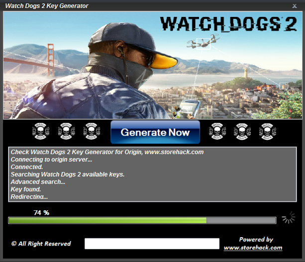 Watch Dogs 2 Key Generator