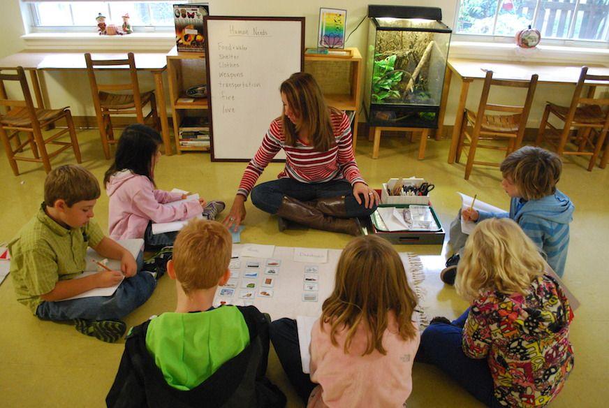 Montessori Elementary Small Group Montessori elementary