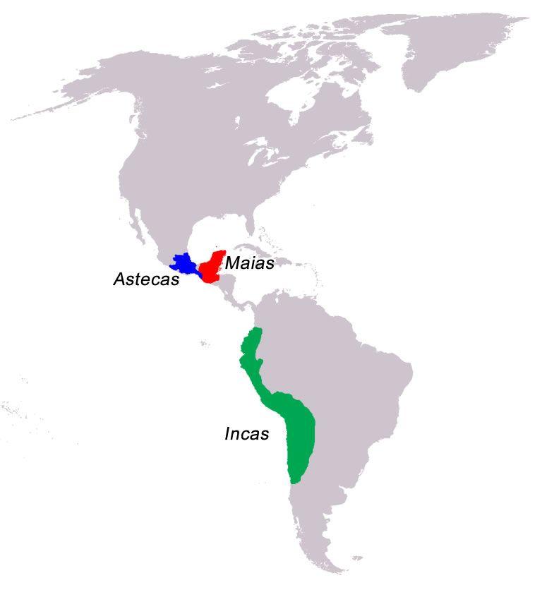 Incas Maias E Astecas Resumo Cultura Localizacao Religiao Os Incas Astecas Povos Pre Colombianos
