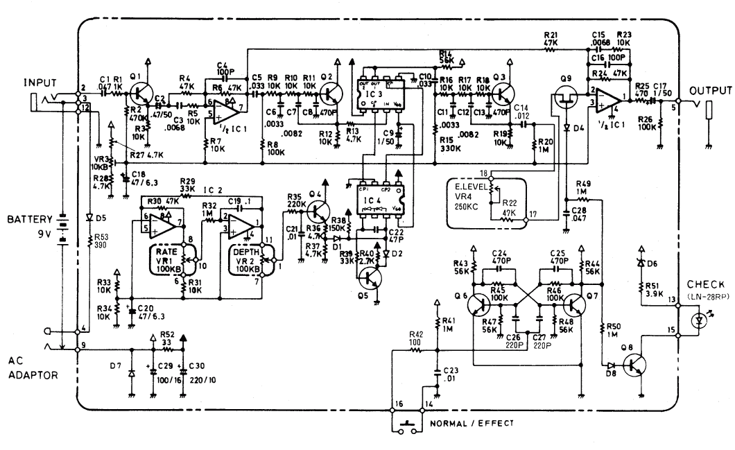 Boss Ce 2 Wiring Diagram - Basic Wiring Diagram •