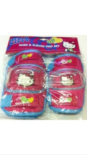 Hello #kitty kids / #children's cycle / bike / scooter knee & #elbow pad set,  View more on the LINK: http://www.zeppy.io/product/gb/2/141986212459/