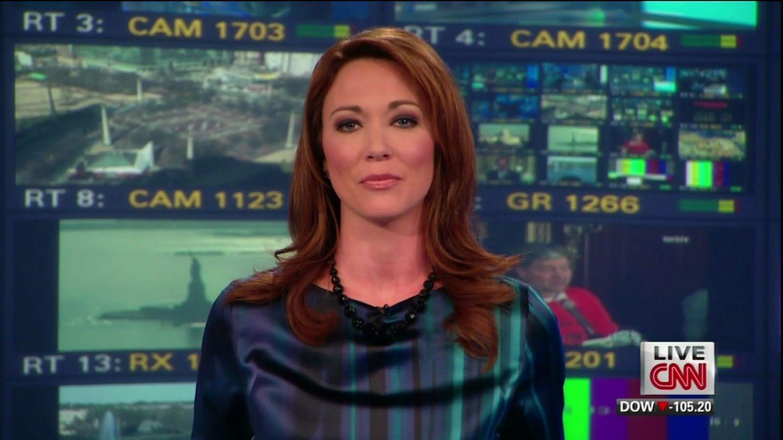 Brooke Baldwin, American TV Anchor, Hosts CNN Newsroom