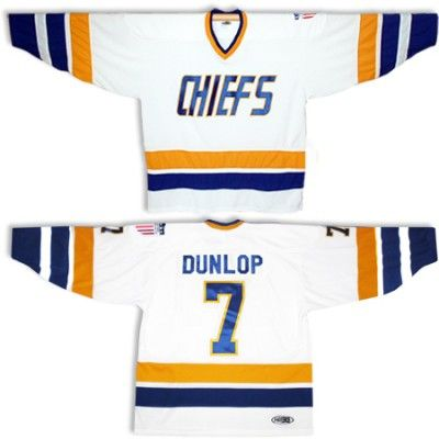 73cc65a70 Charlestown Chiefs hockey jersey from SlapShot movie with name and number