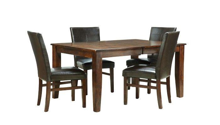 Slumberland Kona Collection Parsons Dining Set Furniture